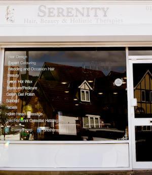 Serenity Salon Shop Front